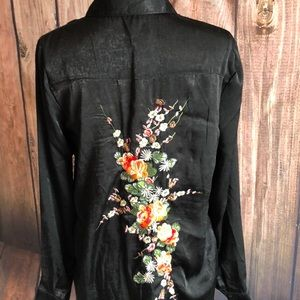 NWT Anthro RD&KoKo Tunic With Embroidering on back